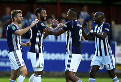 West Brom's Matt Phillips celebrates after scoring his sides second goal   - Mandatory by-line: Matt McNulty/JMP - 22/08/2017 - FOOTBALL - Wham Stadium - Accrington, England - Accrington Stanley v West Bromwich Albion - Carabao Cup - Second Round
