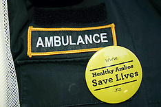 Auckland--Ambulance Staff treated with disciplinary action for wearing union badges