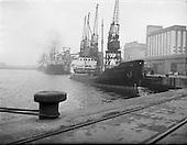 1958 - 02/12 'Brilliant' Coal Boat at Alexandra Basin
