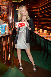 CAROLINE WINBERG at a dinner hosted by Roger Vivier to celebrate The Prismick Denim by Camillle Seydoux held at Casa Cruz, 123 Clarendon Road, London on 17th March 2016.