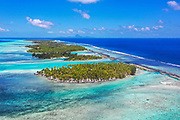 Motu, Tahaa, Society Islands, French Polynesia; South Pacific