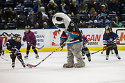 KELOWNA, CANADA - MARCH 07:  Mini Minor Game at the Kelowna Rockets game on March 07, 2017 at Prospera Place in Kelowna, British Columbia, Canada.  (Photo By Cindy Rogers/Nyasa Photography,  *** Local Caption ***