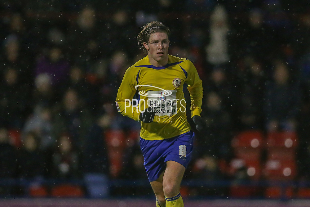 Accrington Stanley midfielder Josh Windass  during the Sky Bet League 2 match between York City and Accrington Stanley at Bootham Crescent, York, England on 28 November 2015. Photo by Simon Davies.