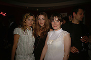 Susannah Wise, Ruth Everett and Charlotte Randle, First night party after the opening of Rabbit by Nina Raine at the Old Red Lion Theatre, Islington. Groucho Club. 18 June 2006. ONE TIME USE ONLY - DO NOT ARCHIVE  © Copyright Photograph by Dafydd Jones 66 Stockwell Park Rd. London SW9 0DA Tel 020 7733 0108 www.dafjones.com