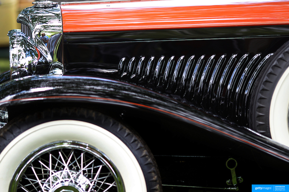 A 1934 Duesenberg Model J at the Greenwich Concours d'Elegance Festival of Speed and Style featuring great classic vintage cars. Roger Sherman Baldwin Park, Greenwich, Connecticut, USA.  2nd June 2012. Photo Tim Clayton