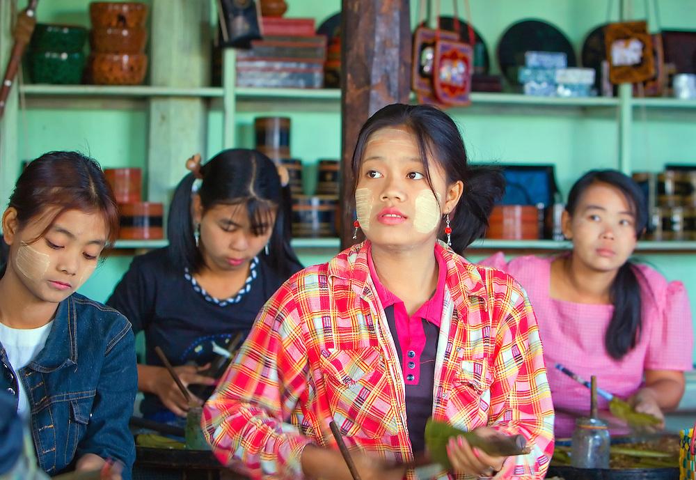 Inle Lake, Myanmar.