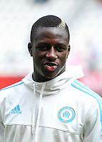 Benjamin MENDY - 16.08.2015 - Reims / Marseille - 2eme journee de Ligue 1<br /> Photo : Andre Ferreira / Icon Sport