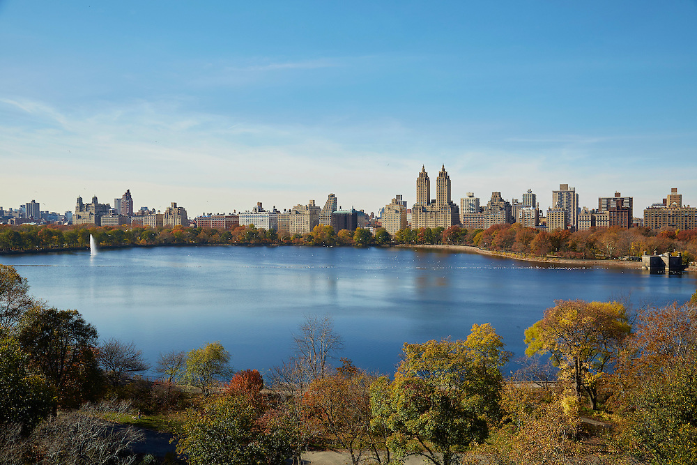 View of Central Park Reservoir from 1133 Fifth Avenue, 14th floor