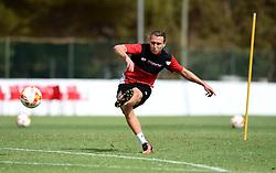 Luke Freeman of Bristol City shoots  - Mandatory by-line: Joe Meredith/JMP - 19/07/2016 - FOOTBALL - Bristol City pre-season training camp, La Manga, Murcia, Spain