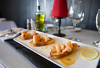 Lemoncello shrimp will be one of the presented dishes by Faro Italian Grille for the upcoming Taste of the Lakes Region this weekend.  (Karen Bobotas/for the Laconia Daily Sun)