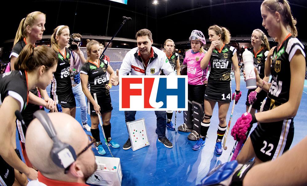 BERLIN - Indoor Hockey World Cup<br /> Women: Germany - Namibia<br /> foto: BOUCHOUCHI Akim.<br /> WORLDSPORTPICS COPYRIGHT FRANK UIJLENBROEK