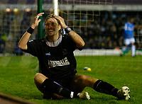 Photo: Glyn Thomas.<br />Birmingham City v Blackburn Rovers. The Barclays Premiership. 19/04/2006.<br /> Blackburn's Robbie Savage finishes on the losing side.