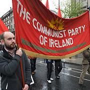 May Day 2010 march in Dublin