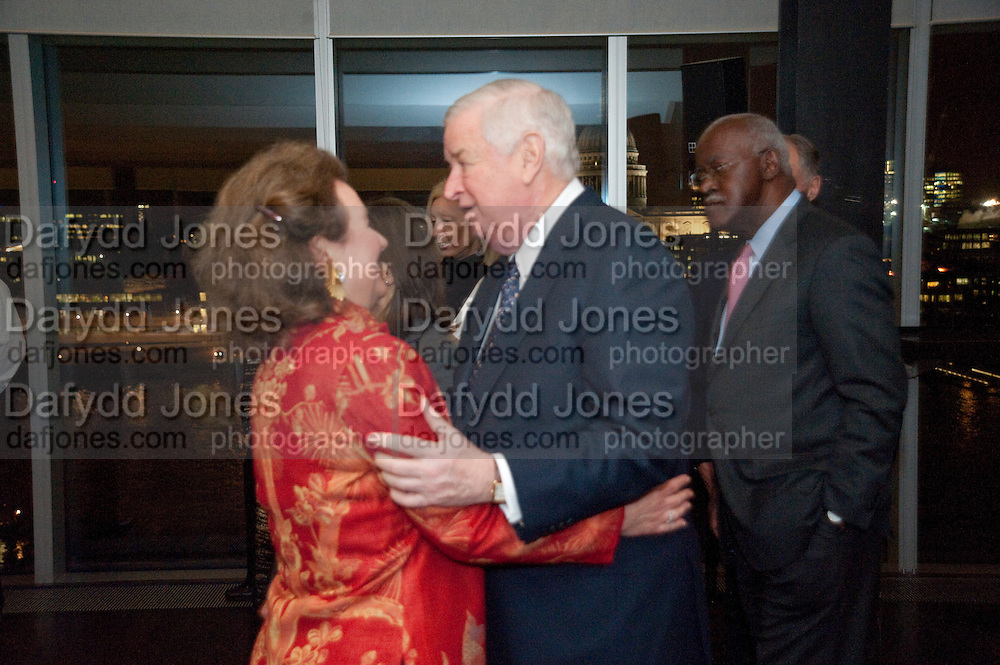 AMERICAN AMBASSADOR; LOUIS B. SUSMAN; ELIZABETH GLASSMAN,  Joint opening reception for the  Van Doesburg and Arshile Gorky exhibitions. Afterwards a dinner for the Gorki exhibition. Tate Modern. London. 9 February 2010