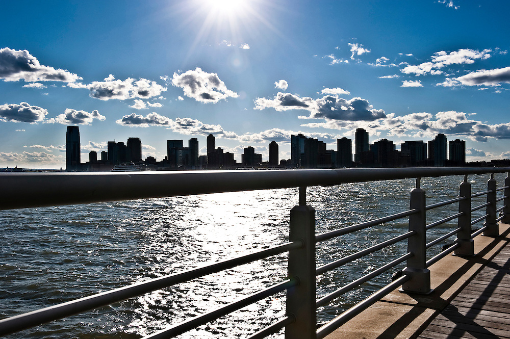 View of New Jersey from Chelsea, New York City
