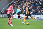 Hull City midfielder Sam Clucas (11)  during the Premier League match between Hull City and Southampton at the KCOM Stadium, Kingston upon Hull, England on 6 November 2016. Photo by Simon Davies.