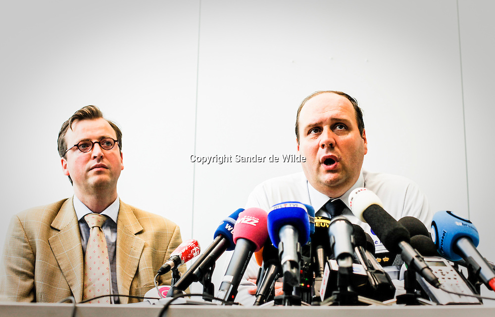 Christian De Coninck in pressconference about the killing of a judge and a clerc in court, Brussels, Belgium on 3 June 2010. REPORTERS © Sander de Wilde