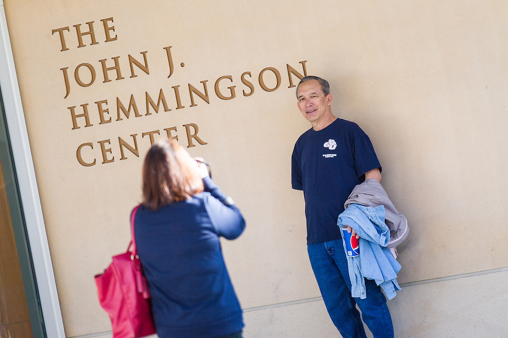 The Hemmingson Center was officially dedicated on October 16, 2015 (Photo by Ryan Sullivan)