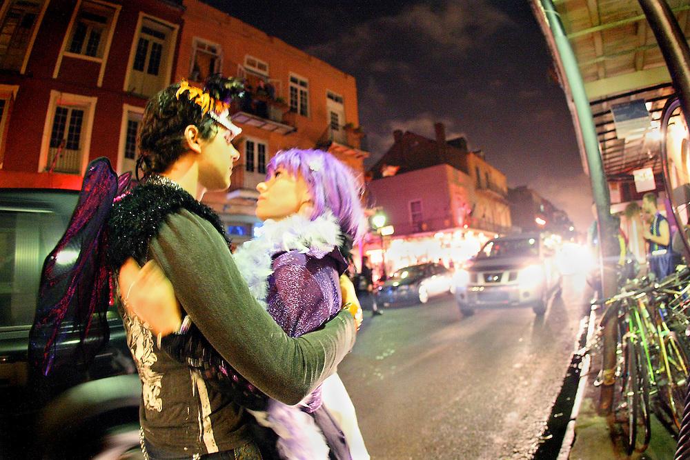 Mardi Gras portraits series
