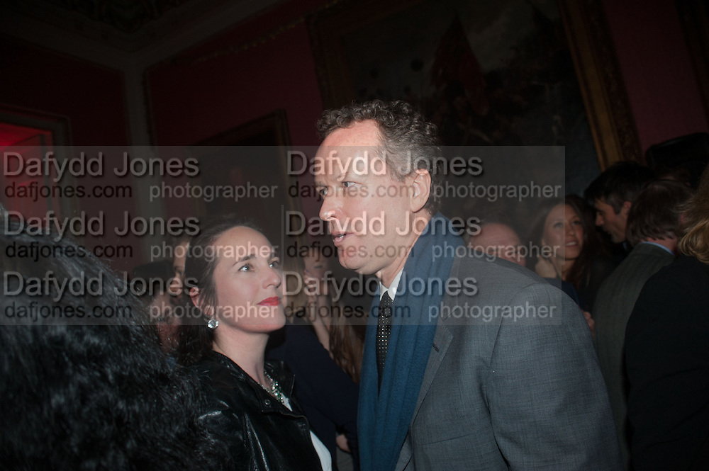 EDWARD ST. AUBYN, The Literary Review Bad Sex fiction award 2012. The In and Out Club, 4 St. james's Sq. London. 4 December 2012