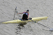 London, Great Britain, 2008 Scullers Head of the River Race,  Beth RODFORD, racing over the Championship Course, Mortlake to Putney, on the River Thames.   Saturday, 06/12/2008. [Mandatory Credit: ? Peter Spurrier/Intersport Images]. Rowing Course: River Thames, Championship course, Putney to Mortlake 4.25 Miles,