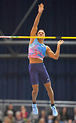 Raphael Holzdeppe (GER) wins the pole vault at 19-3&frac12;<br /> (5.88m) in the 34th Indoor Meeting Karlsruhen in an IAAF World Tour competition at the Messe Karlsruhe on Saturday, Feb. 3, 2018 in Karlsruhe, Germany. (Jiro Mochizuki/Image of Sport)