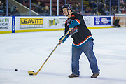 KELOWNA, CANADA - JANUARY 10:  Bark N' Fly at the Kelowna Rockets game on January 10, 2018 at Prospera Place in Kelowna, British Columbia, Canada.  (Photo By Cindy Rogers/Nyasa Photography,  *** Local Caption ***