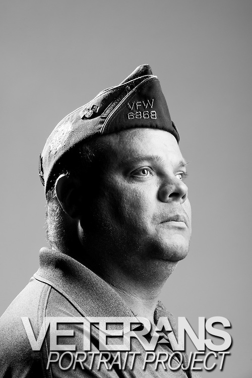 Stephen A. Wylie<br /> Army<br /> E-5<br /> Broadcast Journalist<br /> Aug. 1991 - June 2014<br /> Bosnia, Kosovo, OIF<br /> <br /> Veterans Portrait Project<br /> St. Louis, MO