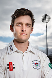 Gloucestershire Cricket's County Championship Captain Gareth Roderick poses during a portrait session - Mandatory byline: Rogan Thomson/JMP - 04/04/2016 - CRICKET - Bristol County Ground - Bristol, England - Gloucestershire County Cricket Club Media Day.