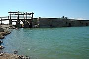 Israel, Maagan Michael, Nahal Taninim - crocodile river national park, The ancient floodgate device