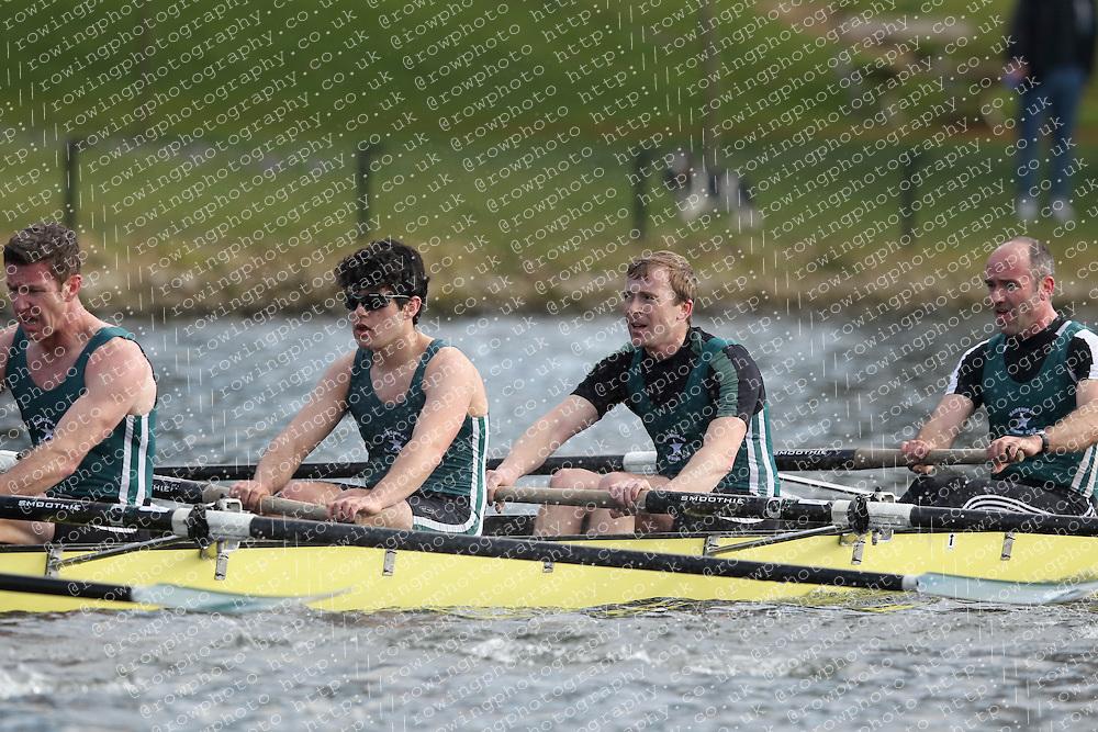 2012.02.25 Reading University Head 2012. The River Thames. Division 1. Maidenhead Rowing Club IM1 8+