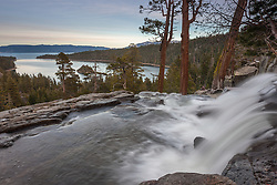 """Eagle Falls at Emerald Bay 1"" - Photograph of Eagle Falls and Emerald Bay, Lake Tahoe."