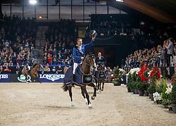 Ahlmann Christian, (GER), Taloubet Z, <br /> Longines FEI World Cup presented by Landrover<br /> Vlaanderen Kerstjumping - Memorial Eric Wauters - <br /> Mechelen 2015<br /> © Hippo Foto - Dirk Caremans<br /> 30/12/15