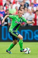 EINDHOVEN - Feyenoord - Southampton FC , Voetbal , Voorbereiding , Oefenwedstrijd , Seizoen 2015/2016 , Stadion de Kuip , 23-07-2015 , Southampton speler Jordy Clasie