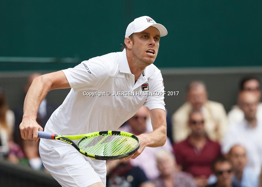 SAM QUERREY (USA)<br /> <br /> Tennis - Wimbledon 2017 - Grand Slam ITF / ATP / WTA -  AELTC - London -  - Great Britain  - 12 July 2017.