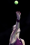 Tennis 2018: WTA Finals Singapore - Day 1 - 21 October 2018