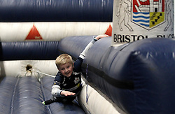 Bristol Rugby fans in the fanzone - Mandatory by-line: Robbie Stephenson/JMP - 15/04/2016 - RUGBY - Ashton Gate - Bristol, England - Bristol Rugby v Moseley  - Green King IPA Championship