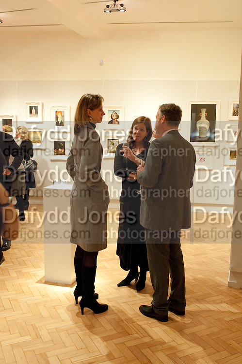 NETTE KUHN, ( CERAMICS SPECIALIST) Bonhams Auction house hosts festive drinks to preview the first phase of the reconstruction of its Mayfair Headquarters - due for completion in 2013.<br /> Bonhams, 101 New Bond Street, London, 19 December 2011.