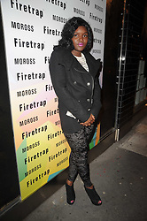 RUBY GOE at a party to celebrate the Firetrap Watches and Kate Moross Collaboration Launch, held at Firetrap, 21 Earlham Street, London, UK on 13th October 2010.