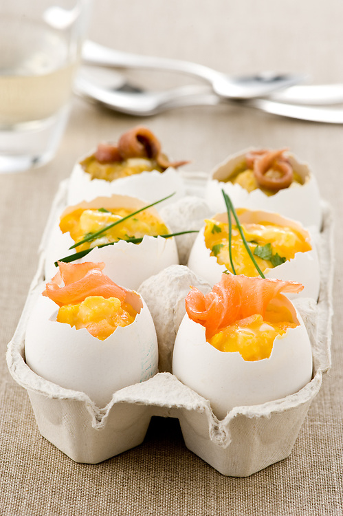 stuffed boiled eggs