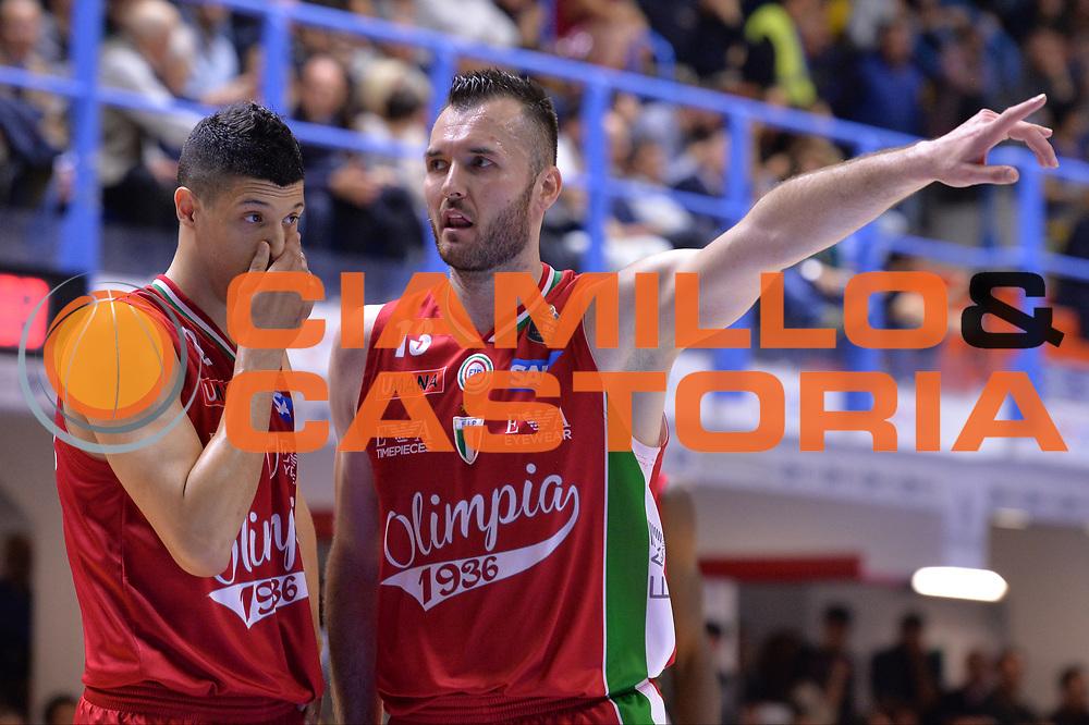 Fontecchio Simone, Macvan Milan<br /> Enel Brindisi - EA7 Emporio Armani Milano<br /> BASKET Serie A 2016-2017<br /> Brindisi 15/04/2017<br /> FOTO CIAMILLO / M.Longo