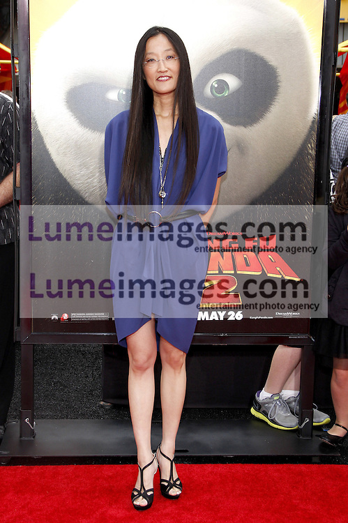 Jennifer Yuh Nelson at the Los Angeles premiere of 'Kung Fu Panda 2' held at the Grauman's Chinese Theater in Hollywood, USA on May 22, 2011.
