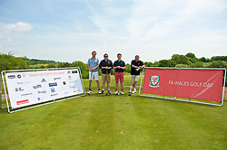NEWPORT, WALES - Friday, May 18, 2018: FAW Golf Day during day one of the Football Association of Wales' National Coaches Conference 2018 at the Celtic Manor Resort. (Pic by David Rawcliffe/Propaganda)