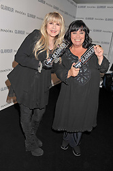 Left to right, STEVIE NICKS and DAWN FRENCH at the Glamour Women of The Year Awards 2011 held in Berkeley Square, London W1 on 7th June 2011.