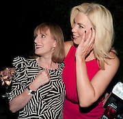 JENNA RUSSELL; HANNAH WADDINGHAM, Press night for Into the Woods. Regents Park Open air theatre. London. 16 August 2010. -DO NOT ARCHIVE-© Copyright Photograph by Dafydd Jones. 248 Clapham Rd. London SW9 0PZ. Tel 0207 820 0771. www.dafjones.com.