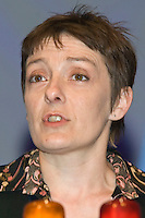 Hazel Danson, Executive, speaking at the NUT Conference 2008, Manchester...© Martin Jenkinson, tel 0114 258 6808 mobile 07831 189363 email martin@pressphotos.co.uk. Copyright Designs & Patents Act 1988, moral rights asserted credit required. No part of this photo to be stored, reproduced, manipulated or transmitted to third parties by any means without prior written permission   NUT08