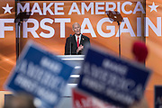 Florida Governor Rick Scott addresses delegates during the third day of the Republican National Convention July 20, 2016 in Cleveland, Ohio.