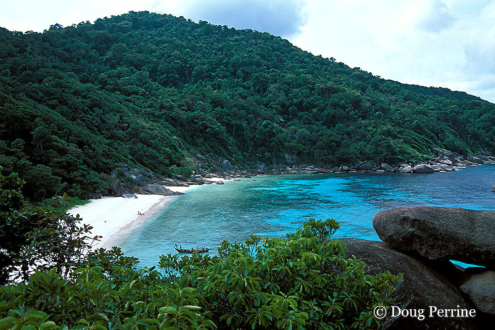 Shoe Bay, or Donald Duck Bay, Similan Islands, Thailand ( Andaman Sea / Indian Ocean )