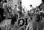Band on a float, Notting Hill Carnival, London, 1989