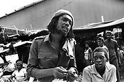 Peter Tosh downtown Kingston - 1978